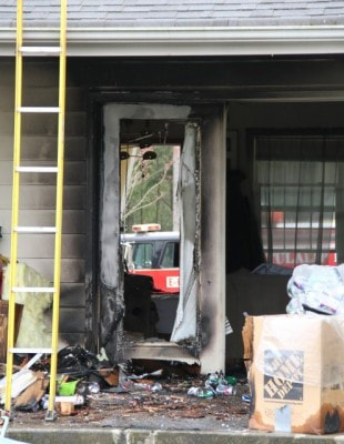 Fire damages Tulalip home on December 16, 2011