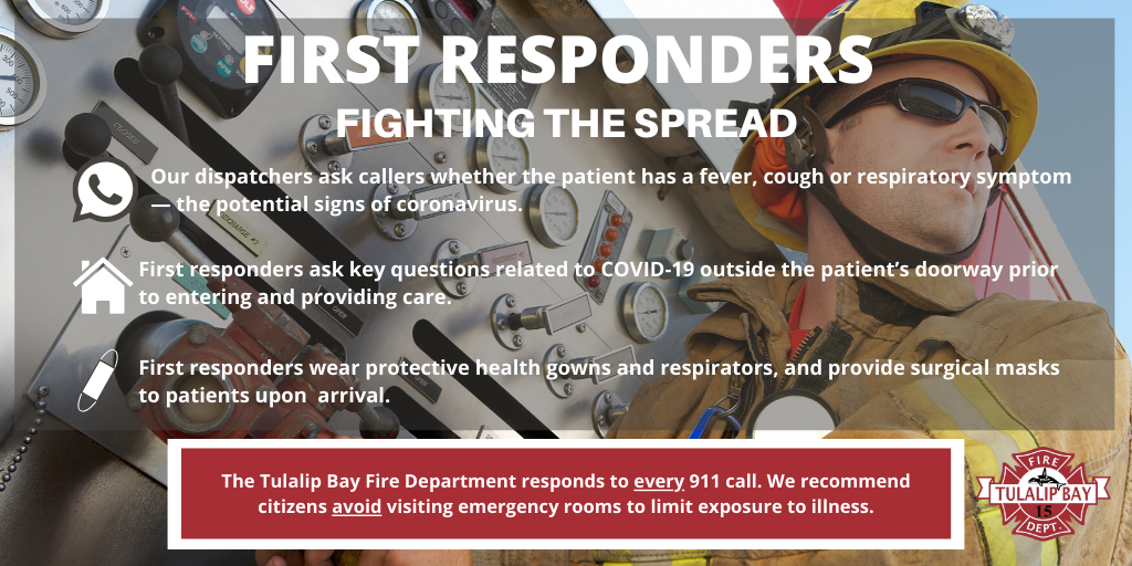 First Responders - Fighting the Spread