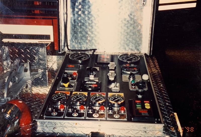 fire engine controls