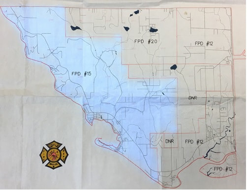 Fire District 15 map