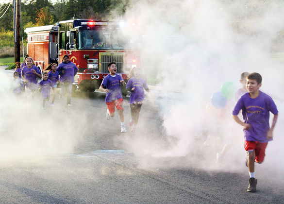 Tulalip Tribes' Unity Month begins with Color Run - October 11, 2017