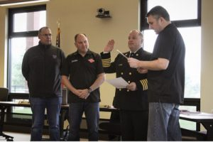 Ryan Shaughnessy sworn in as Tulalip Bay's new Fire Chief - February 13th, 2018