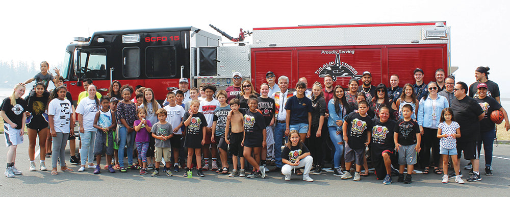 Tulalip Tribes purchases new fire truck for Fire District 15 - Tulalip Bay Fire Department receives a much needed addition to its fleet - September 5th, 2018