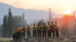 Tulalip Bay firefighters join strike team, help control eastern Washington wild land fires. - August 28th, 2018