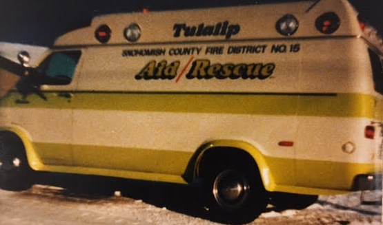 Yellow Tulalip Aid/Rescue Unit
