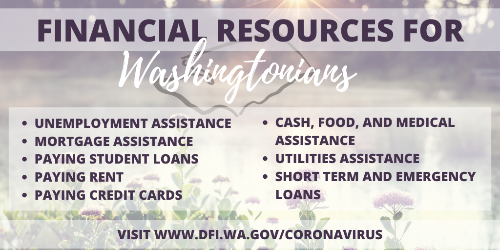 Financial Resources for Washingtonians