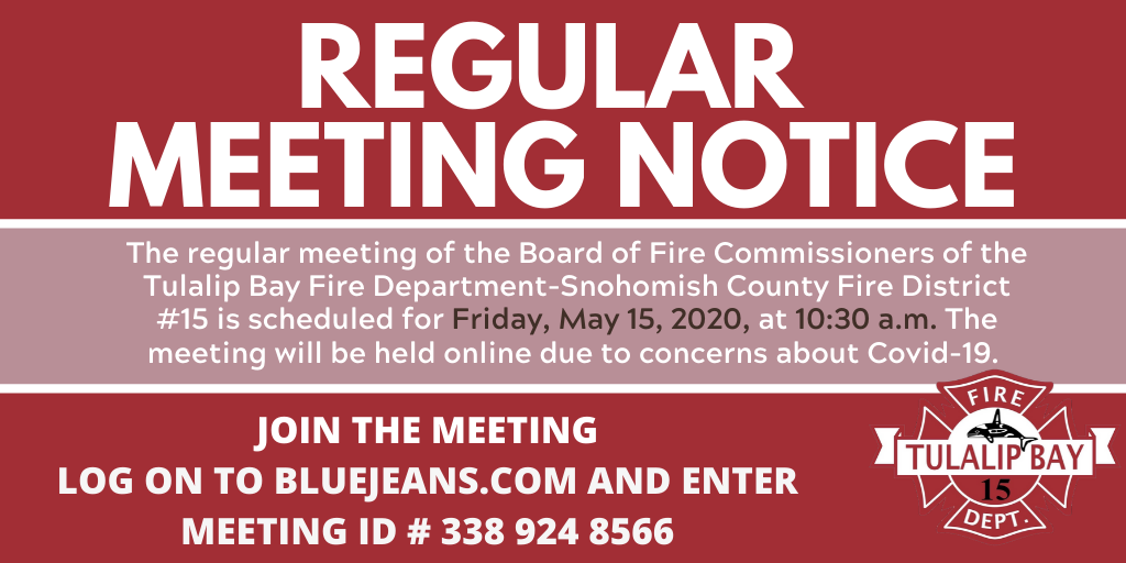Regular Meeting Notice