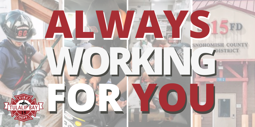 Always working for YOU!